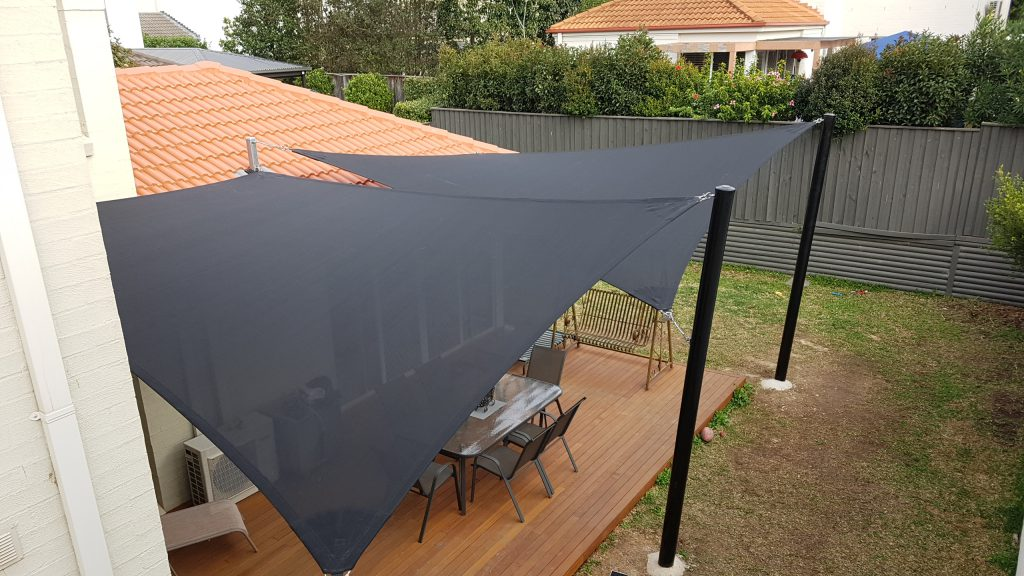 Custom shade sails at Kellyville Ridge 3